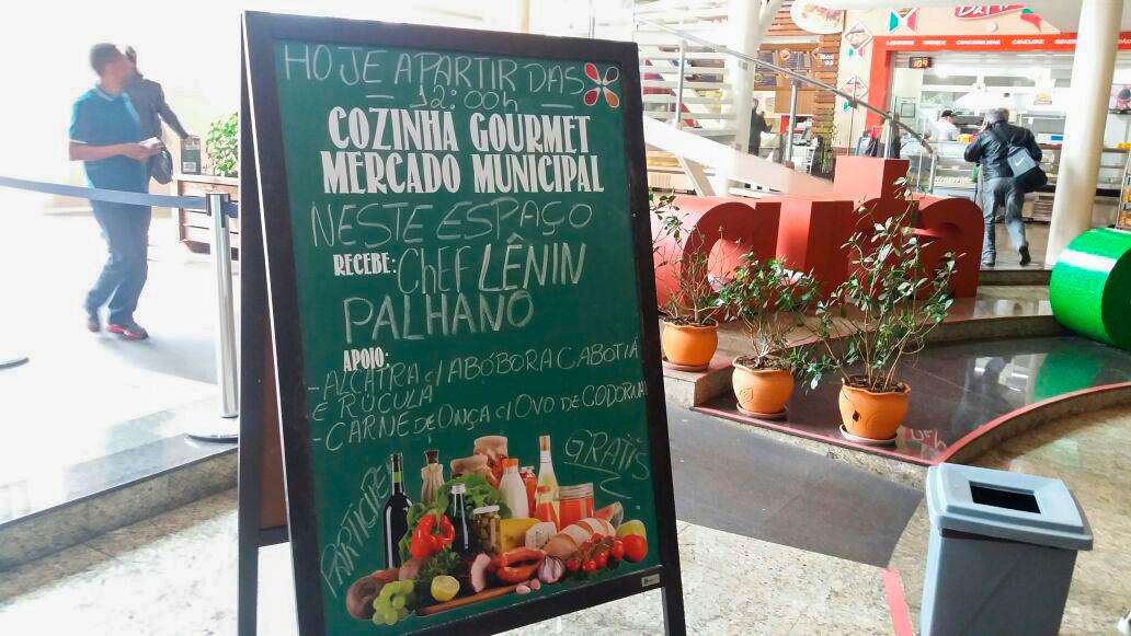 Sabores de Curitiba | Aula-show com o Chef Lênin Palhano | Mercado Municipal de Curitiba