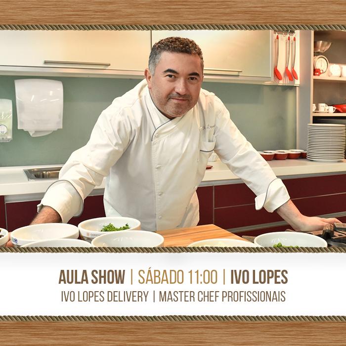 Aula-show com o chef Ivo Lopes | Programação de Dia das Mães do Mercado Municipal de Curitiba | Confira a receita de Bacalhau com purê e alho assado e tapenade de azeitonas