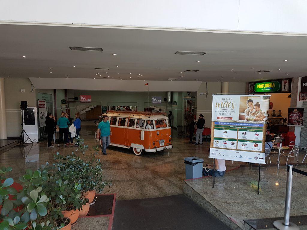 1ª Exposição de Kombis no Mercado Municipal de Curitiba | Parceria com o Kombi Clube Curitiba (KCC) | Dia das Mães no Mercado Municipal de Curitiba